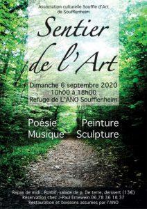 Sentier de l'art à Soufflenheim